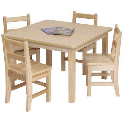 Steffy Kids Square Table | AllModern