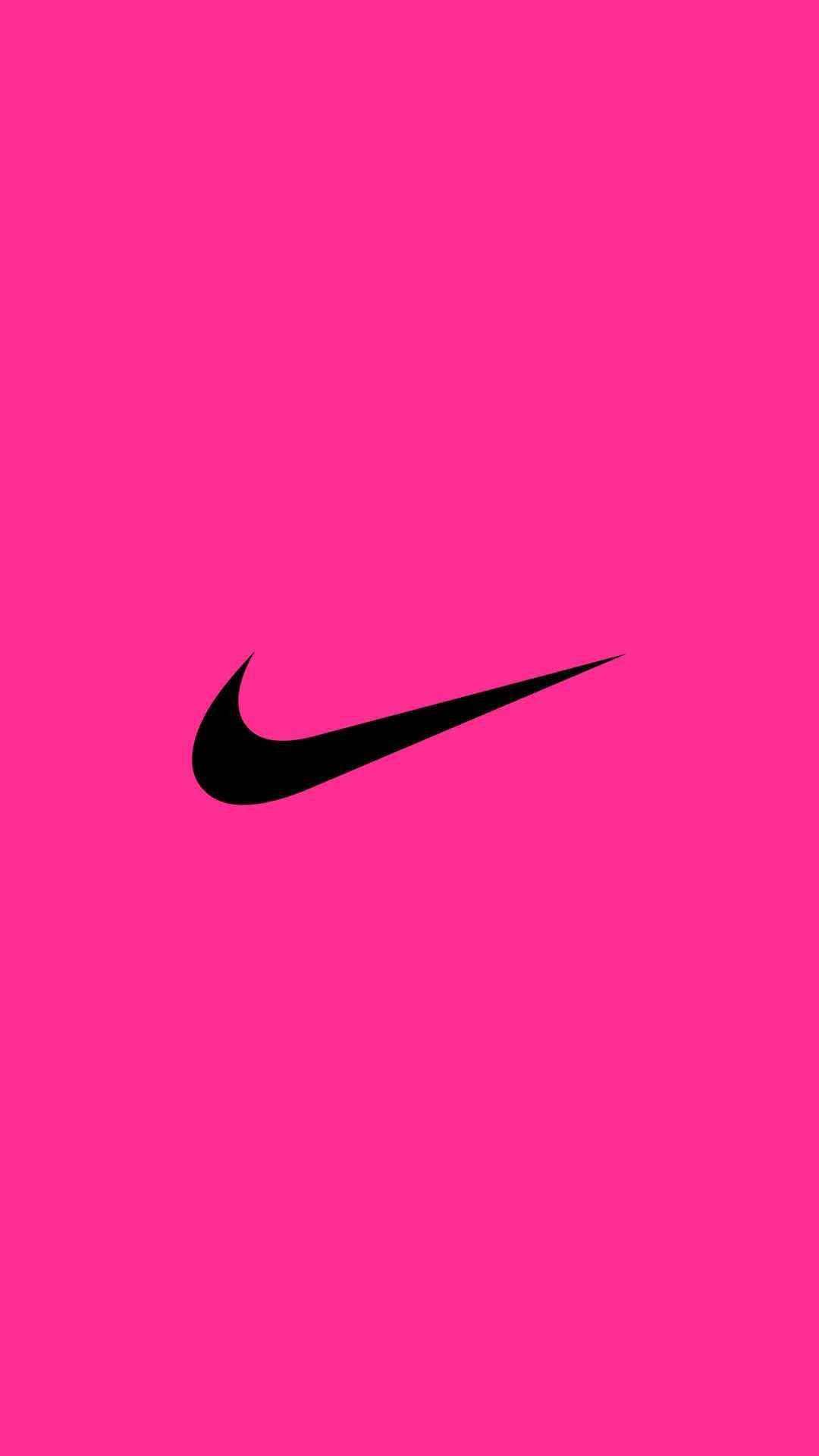 NIKE Logo iPhone Wallpaper | Pink Wallpaper! | Pinterest ...