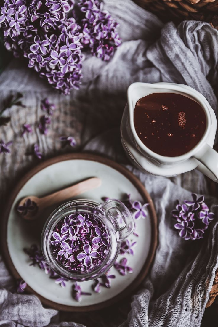 Lilac Honey Infusion Recipe Lilac Food Photography Food Design
