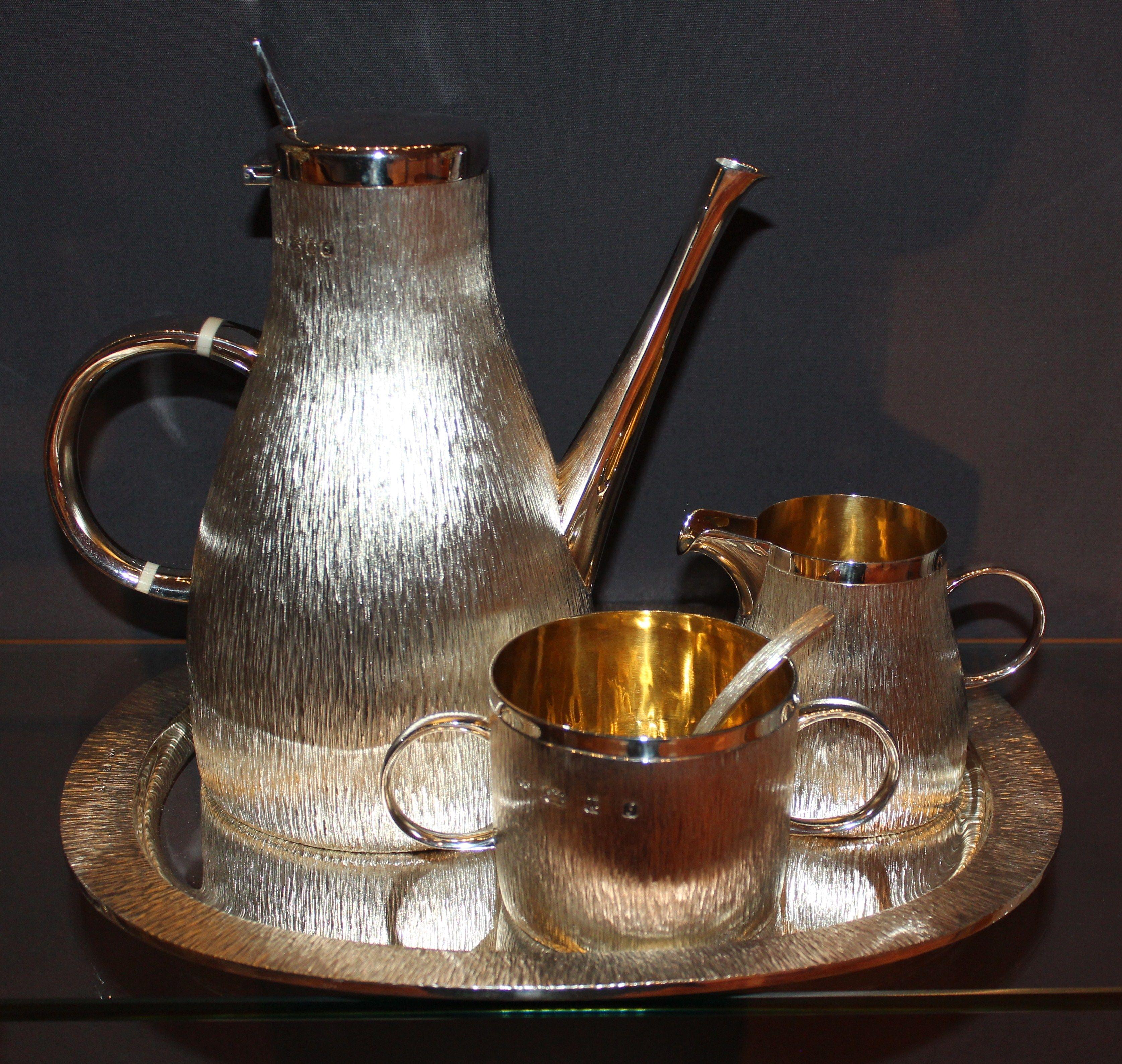 Silver coffee set Silver coffee set, Coffee set