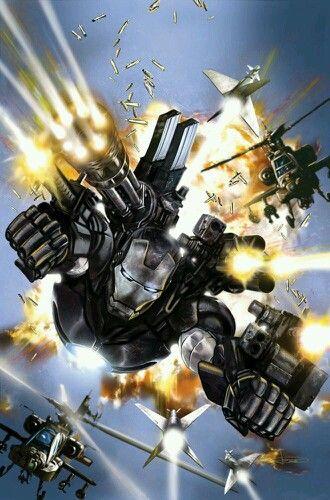 War Machine, the armor created by Tony Stark