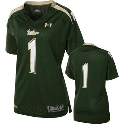 save off 510b5 68839 South Florida Bulls Women's Under Armour Football Jersey ...