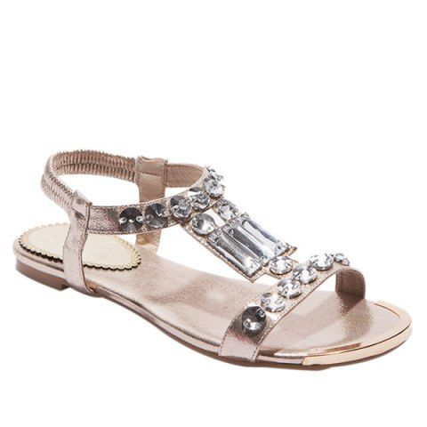 GET $50 NOW | Join RoseGal: Get YOUR $50 NOW!http://www.rosegal.com/sandals/casual-metal-colour-and-rhinestones-design-sandals-for-women-497359.html?seid=3185995rg497359