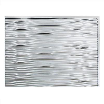 Home Depot Decorative Tile Fasade 24 Inx 18 Inwaves Pvc Decorative Tile Backsplash In