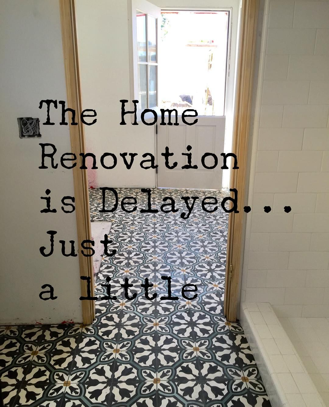 @suzannestavert on Instagram: Our #emptynest #homerenovation hit a little bump in the road- On...