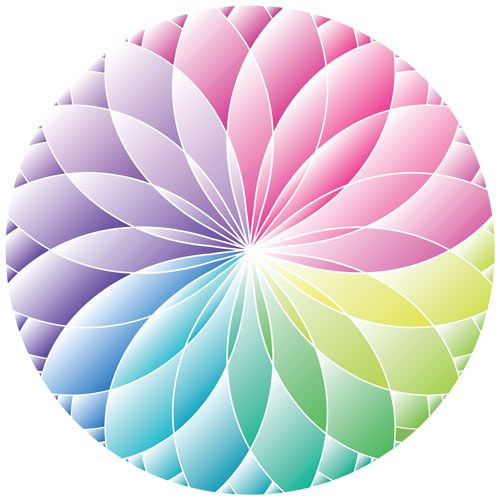 Pretty Colour Wheel