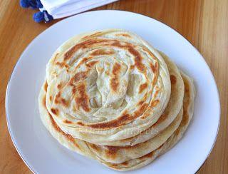 Roti Canai Paratha Bread Step By Step Paratha Bread Recipes With Naan Bread Prata Recipe