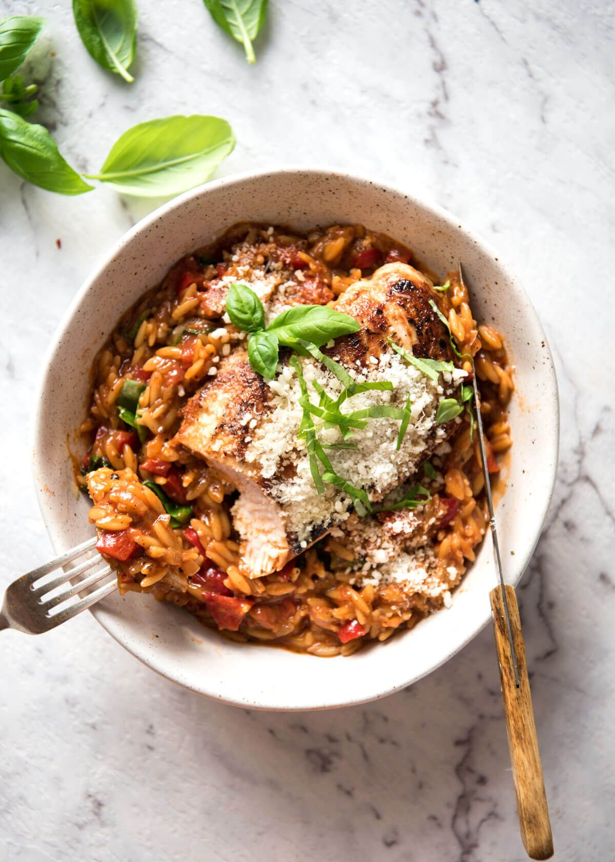 One pot italian chicken orzo risoni pasta receta forumfinder Images