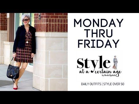 6dc56eb40 daily outfits | style over 50 - YouTube | fashion ideas | Fashion ...
