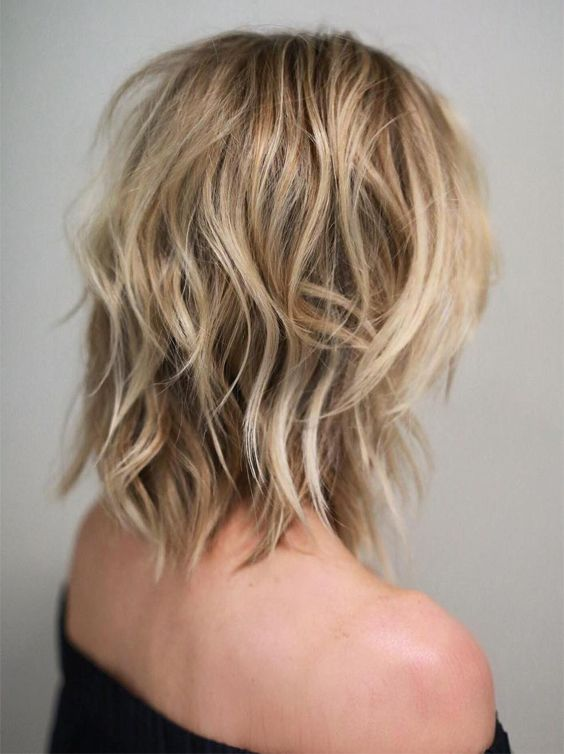 how to cut medium length hair by yourself