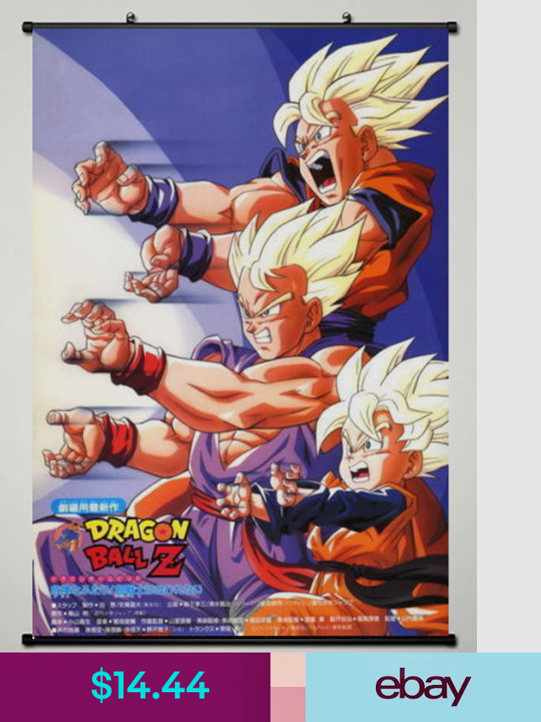 Dragon Ball Z Super Fighting Hot Japan Anime 60 90cm Wall Scroll Poster 365 Dragon Ball Anime Dragon Ball Z