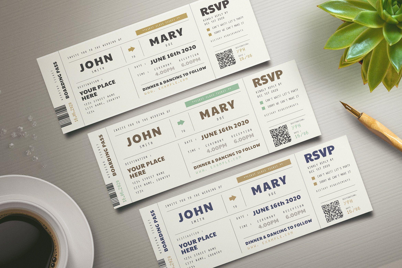 Boarding Pass Wedding Invitation Boarding Pass Wedding Invitation Ticket Wedding Invitations Printing Wedding Invitations
