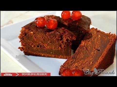 HOW TO MAKE JAMAICAN BLACK RUM CAKE - CHRISTMAS RECIPES !!! - YouTube