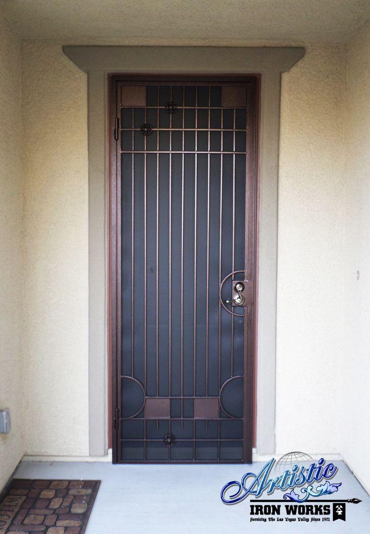 Avery Wrought Iron Security Screen Door Model Sd0163 Security Door Wrought Iron Security Doors Doors