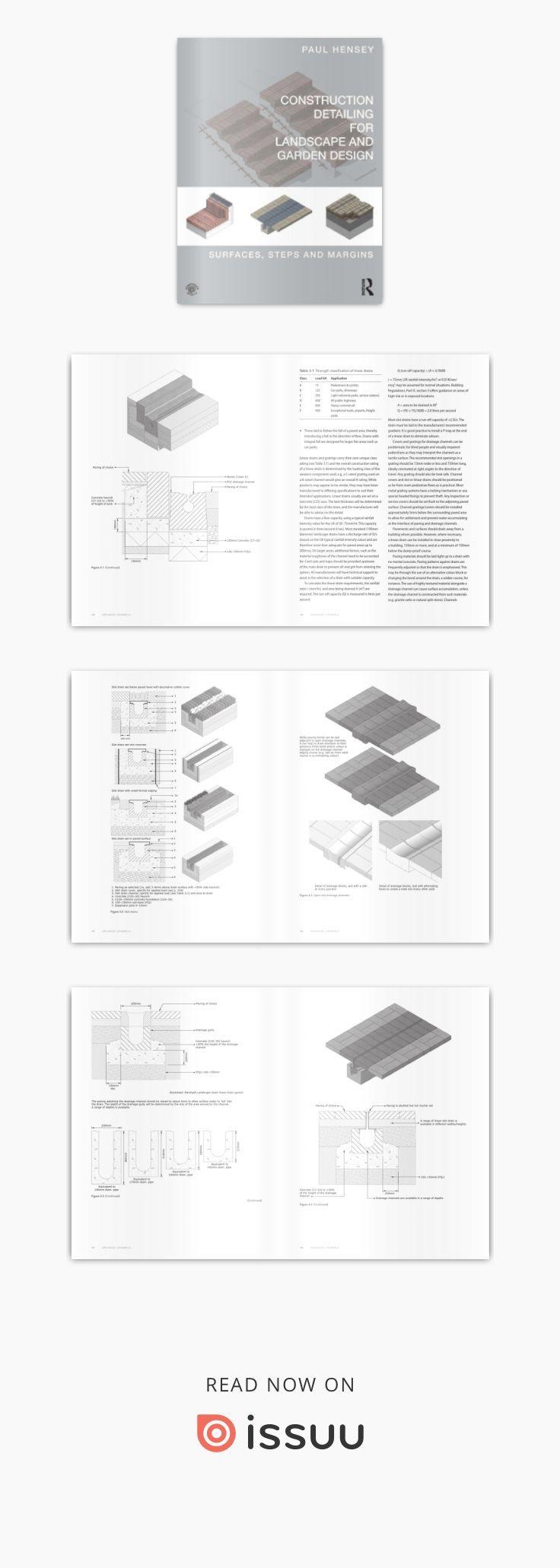 Construction Detail For Landscape And Garden Design Landscape Garden Design Construction