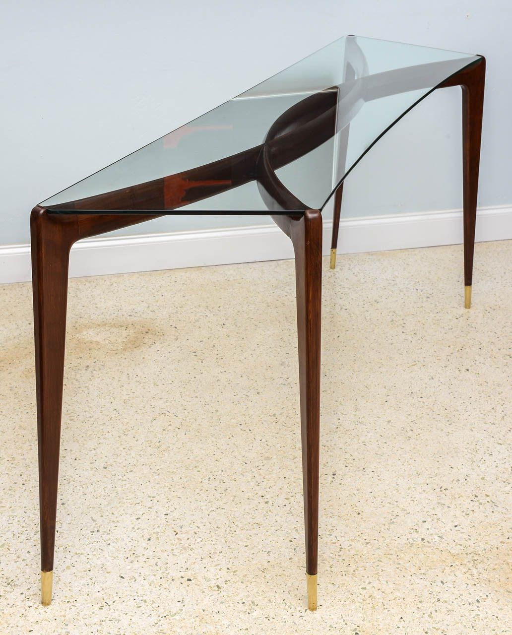 Pair of Italian Consoles Attributed to Gio Ponti