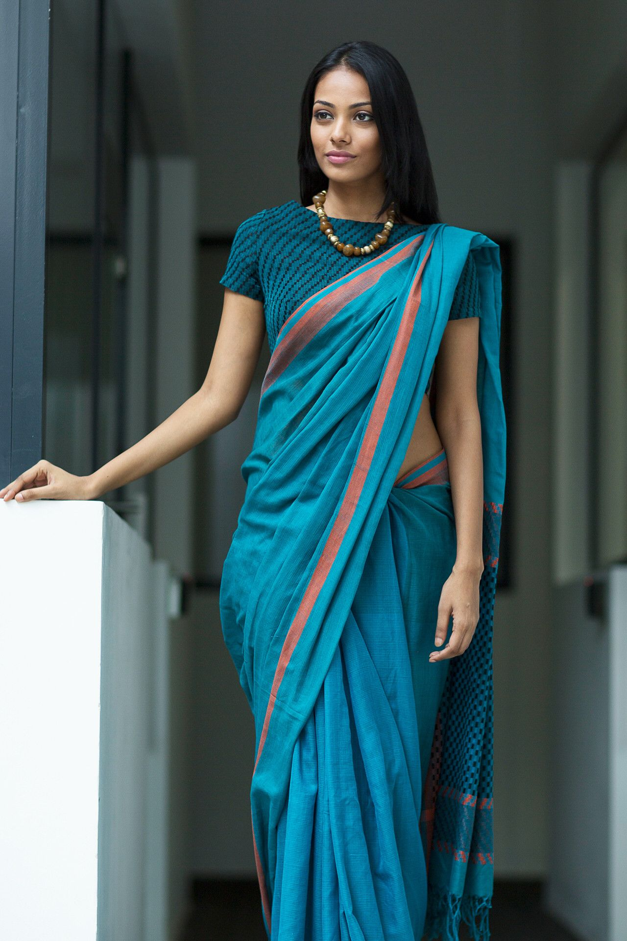 This Saree Is Alluring Simply Fallen In Luv Saree Designs Saree Blouse Designs Elegant Saree