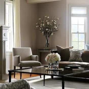 Gray Living Room Ideas. Amazing gallery of interior design and decorating ideas Gray And Brown Living  Room in living rooms basements by elite with Glass Coffee Table Transitional