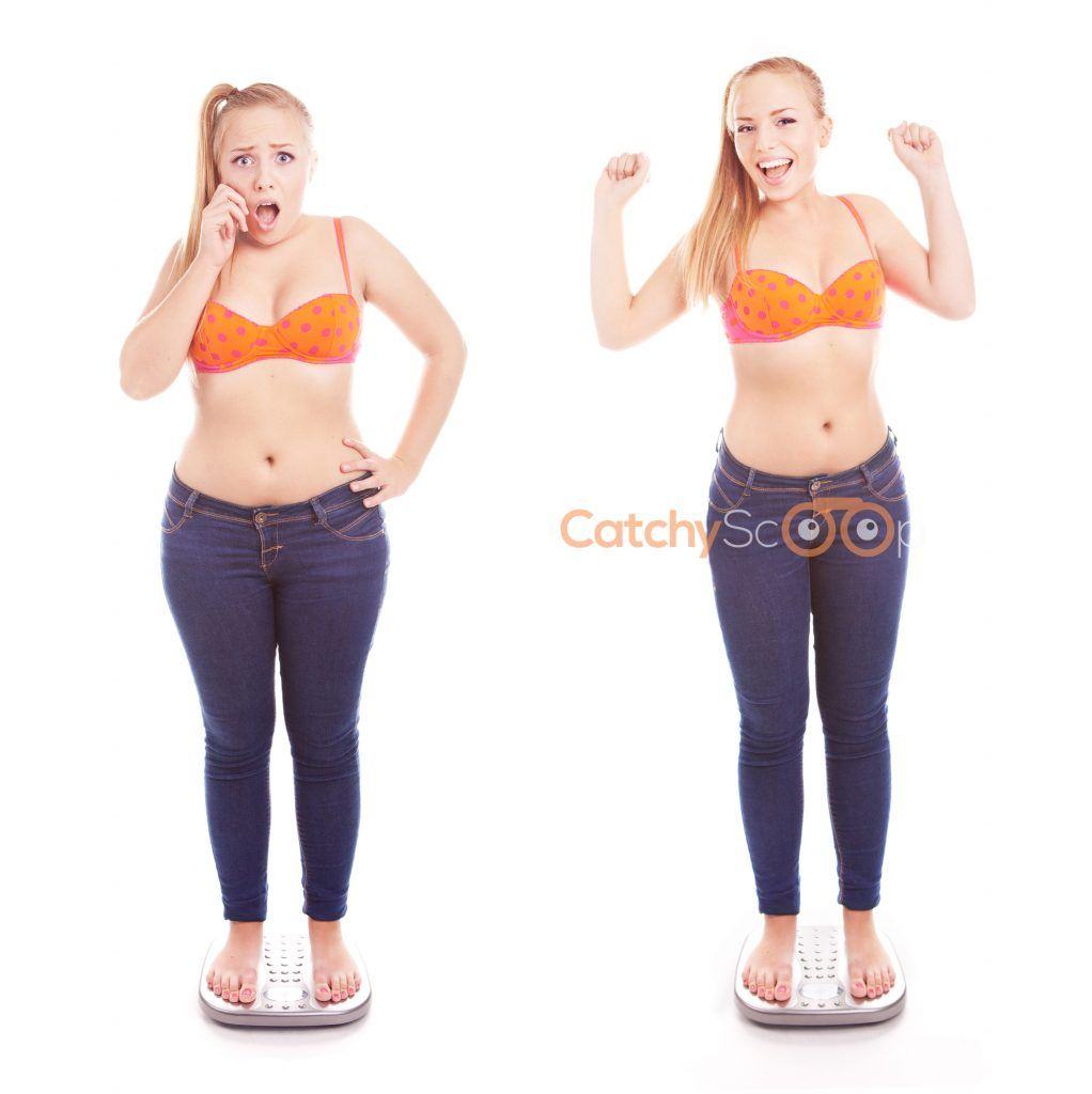 body wrap weight loss before and after