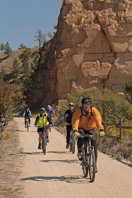 Biking on the Mickelson Trail South Dakota    Jump off in Hill City, just a minute away from us!