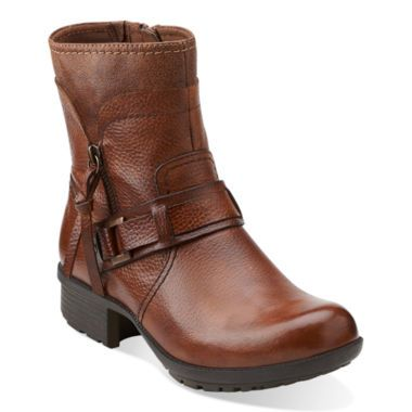 cabd698affede Clarks® Riddle Avant Leather Womens Boots found at  JCPenney ...