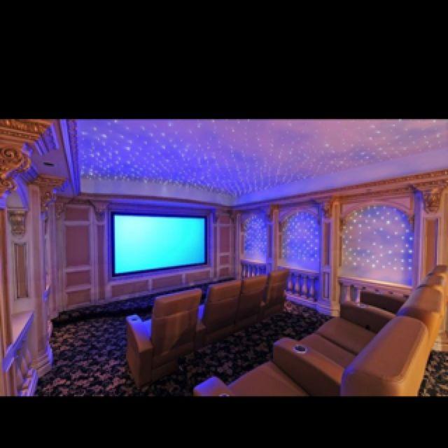 Salas De Cine En Casa: House Style And Architecture