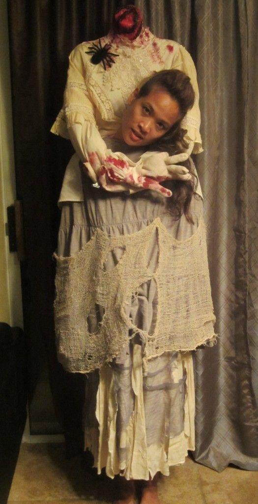 Headless Man and Headless Woman Costumes Howloween Pinterest - homemade halloween costume ideas men