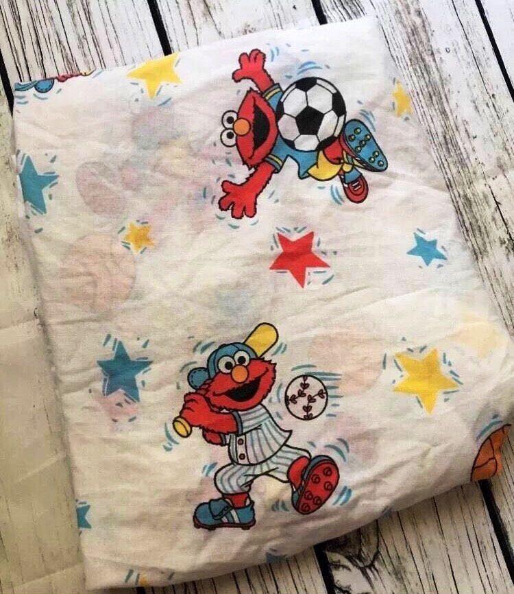 Sesame Street Fitted Crib Sheet