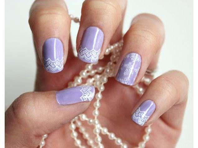 Wedding Nails Bridal Manicure Designs Add Polish To Your Big Day