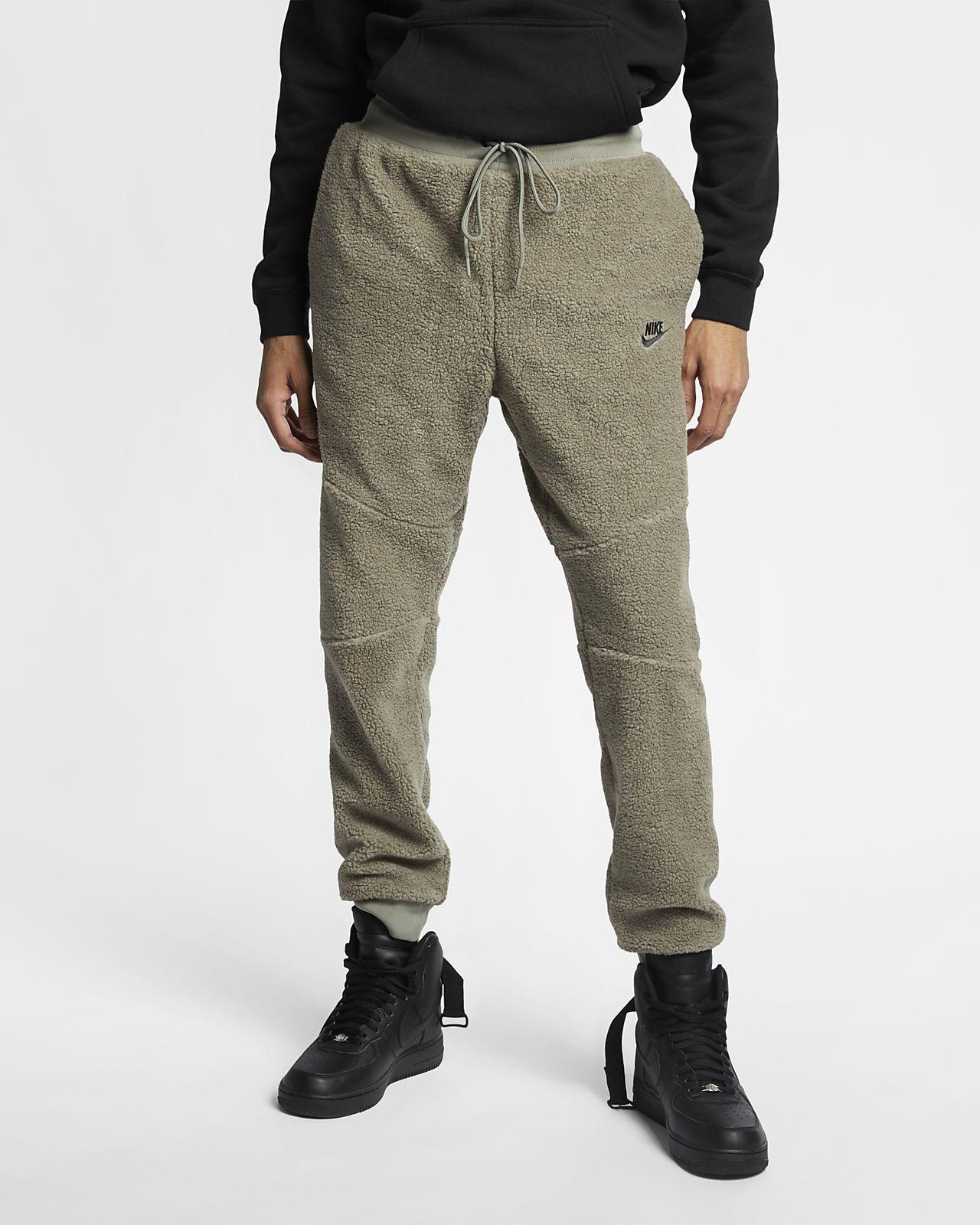 Mens Nike Tech Fleece Pants Navy