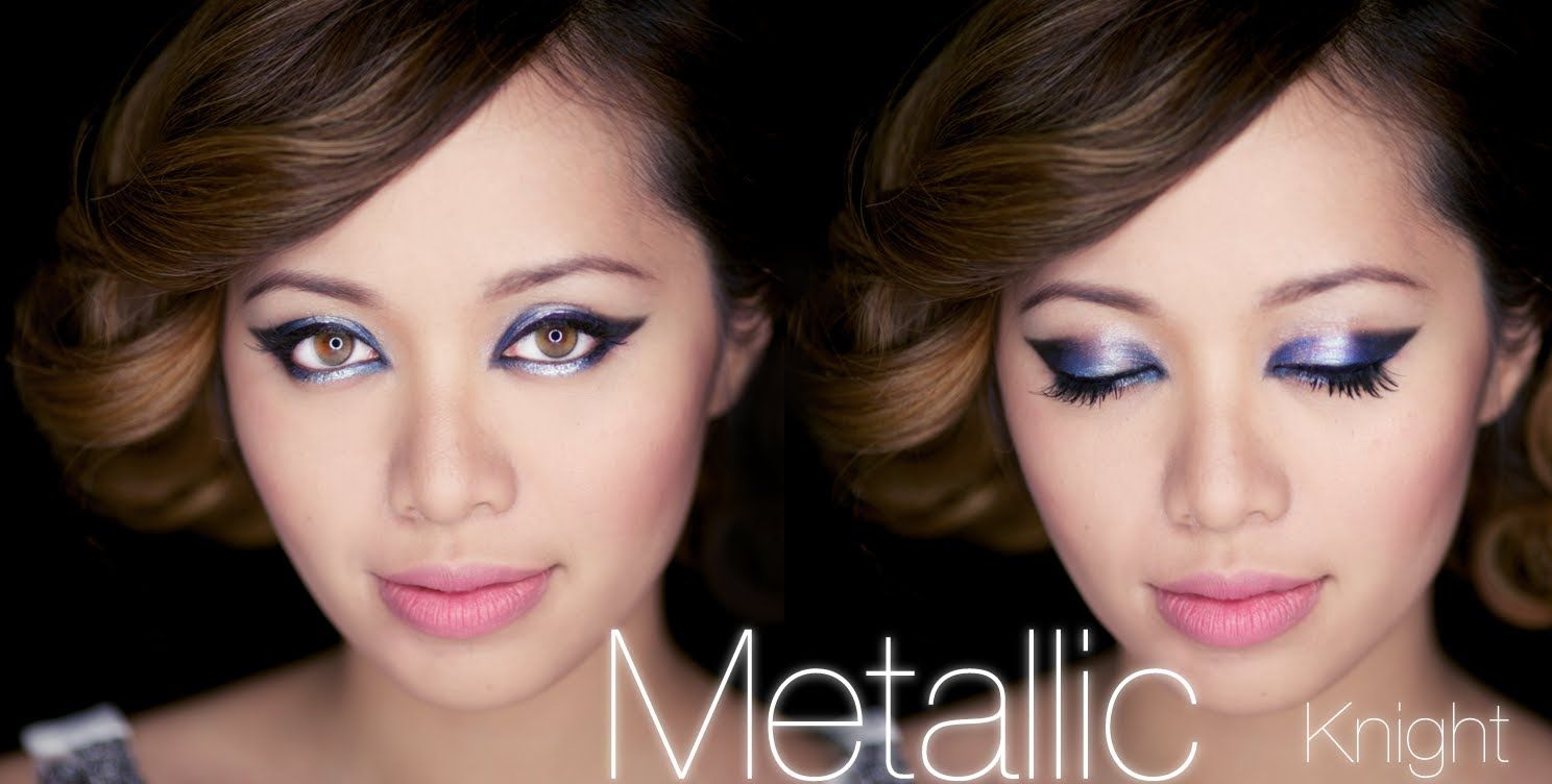 Metallic knight makeup knight michelle phan and makeup eye makeup tutorials metallic knight makeup baditri Image collections