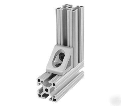 80//20 Inc Aluminum 2 Hole Slotted Inside Corner Bracket 15 Series 4295 N