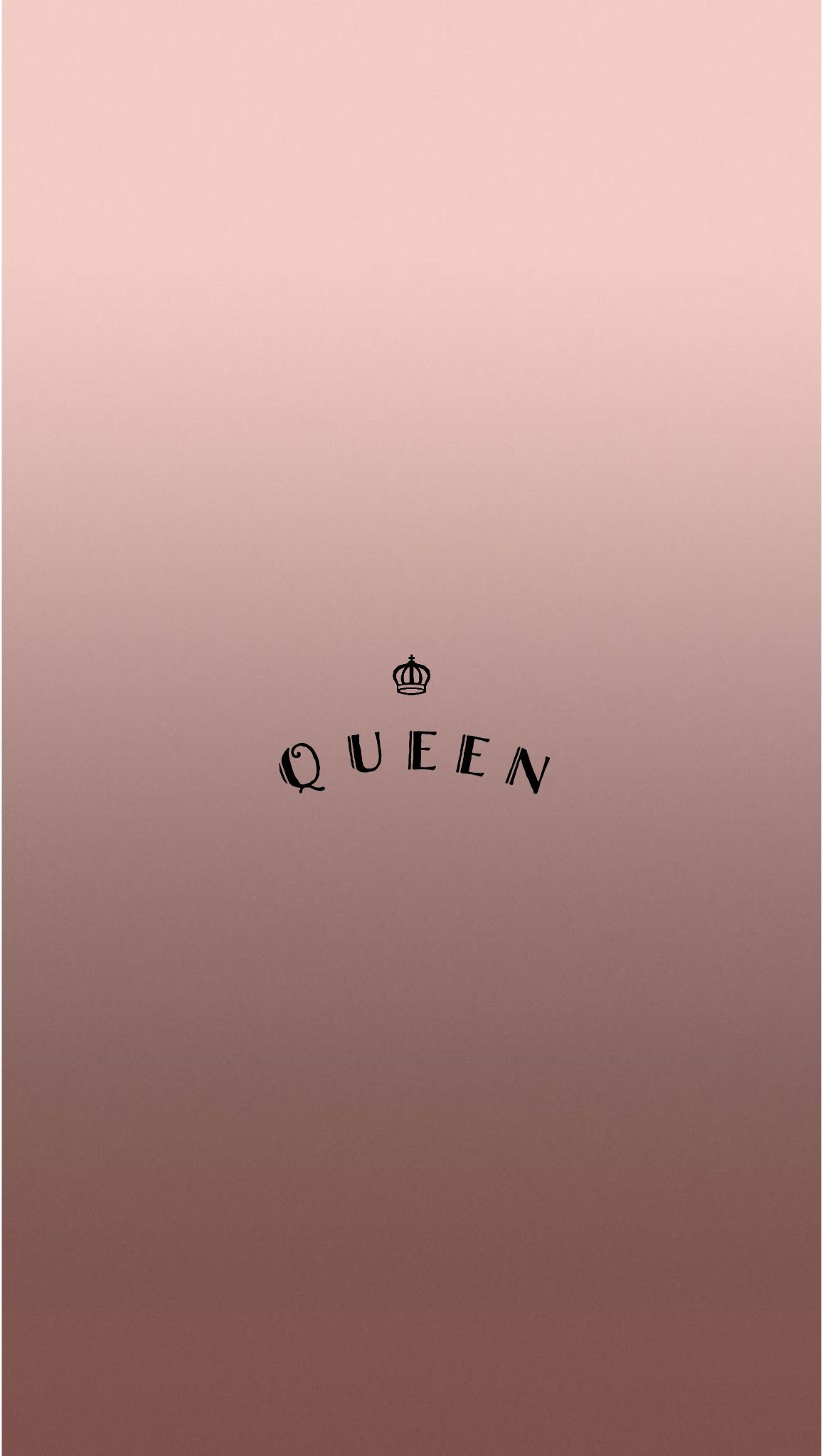 Iphone wallpaper tumblr queen - Rose Gold Queen Iphone Wallpaper By Evaland