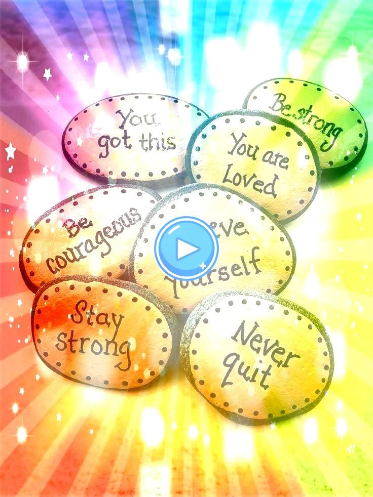 with Words of Encouragement Painted Stones for Military Affirmation Stones for Pocket Rocks with Words of Encouragement Painted Stones for Military Affirmation Stones for...
