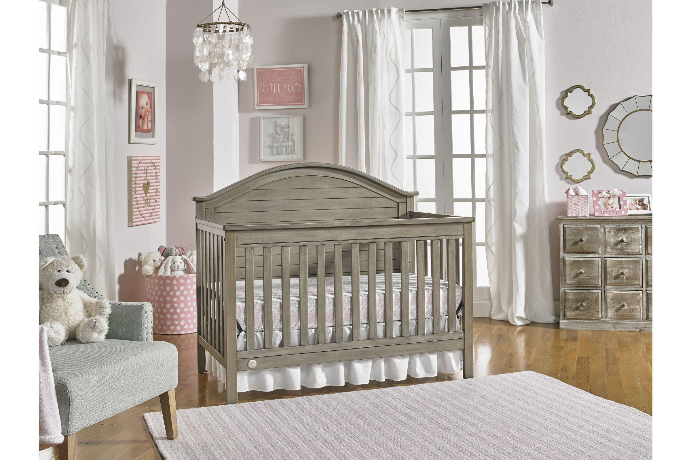 Fisher Price Haley Full Panel Convertible Crib By Bivona In 2020 Convertible Crib Cribs Vintage Crib