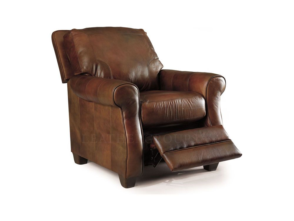 Exceptional Bowden Leather Recliner Chair By Lane Furniture   2948