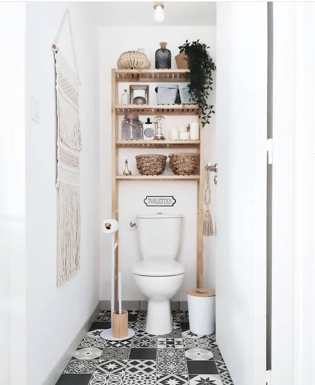 """Photo of Design Your Spaces on Instagram: """"Boho Bathroom🚽 Inspo!! What's your favorite part?  @mybohoplace  @design_your_spaces . . . . . #fixerupper #magnolia #farmhousestyle…"""""""