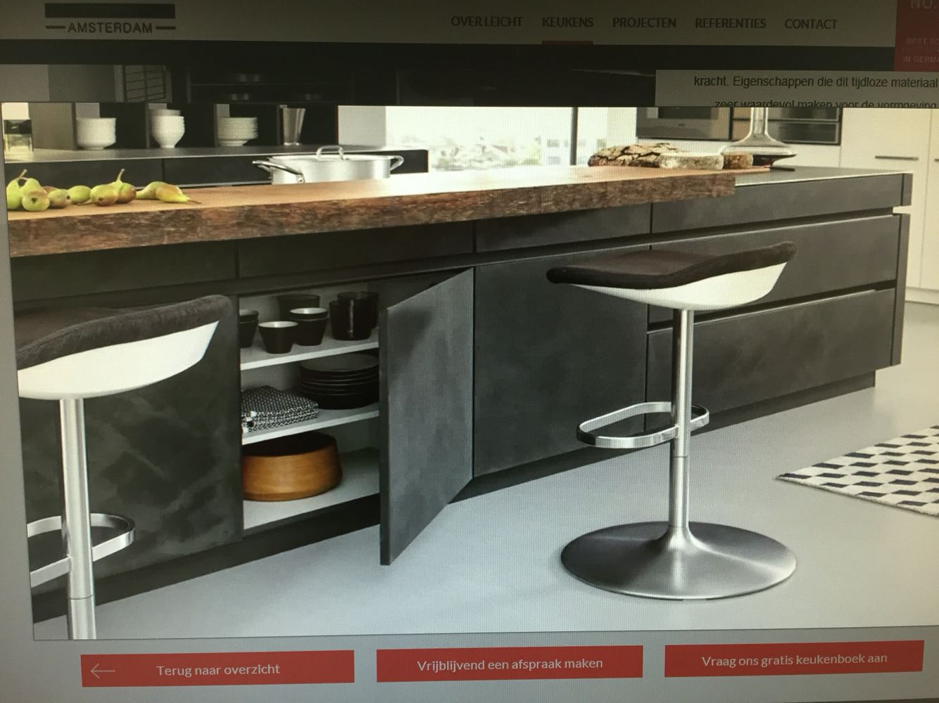 Best Leicht Kitchens Betonlook Modern Kitchen Design 400 x 300