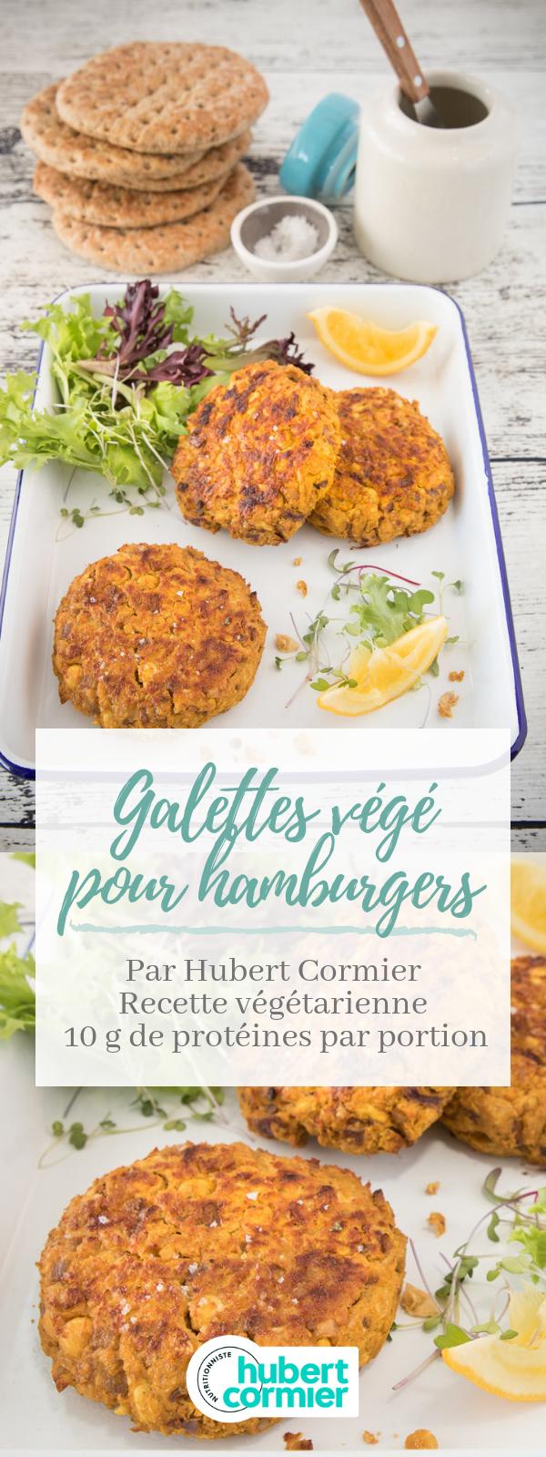 Galettes végé pour hamburgers | Recette | Idée recette ...