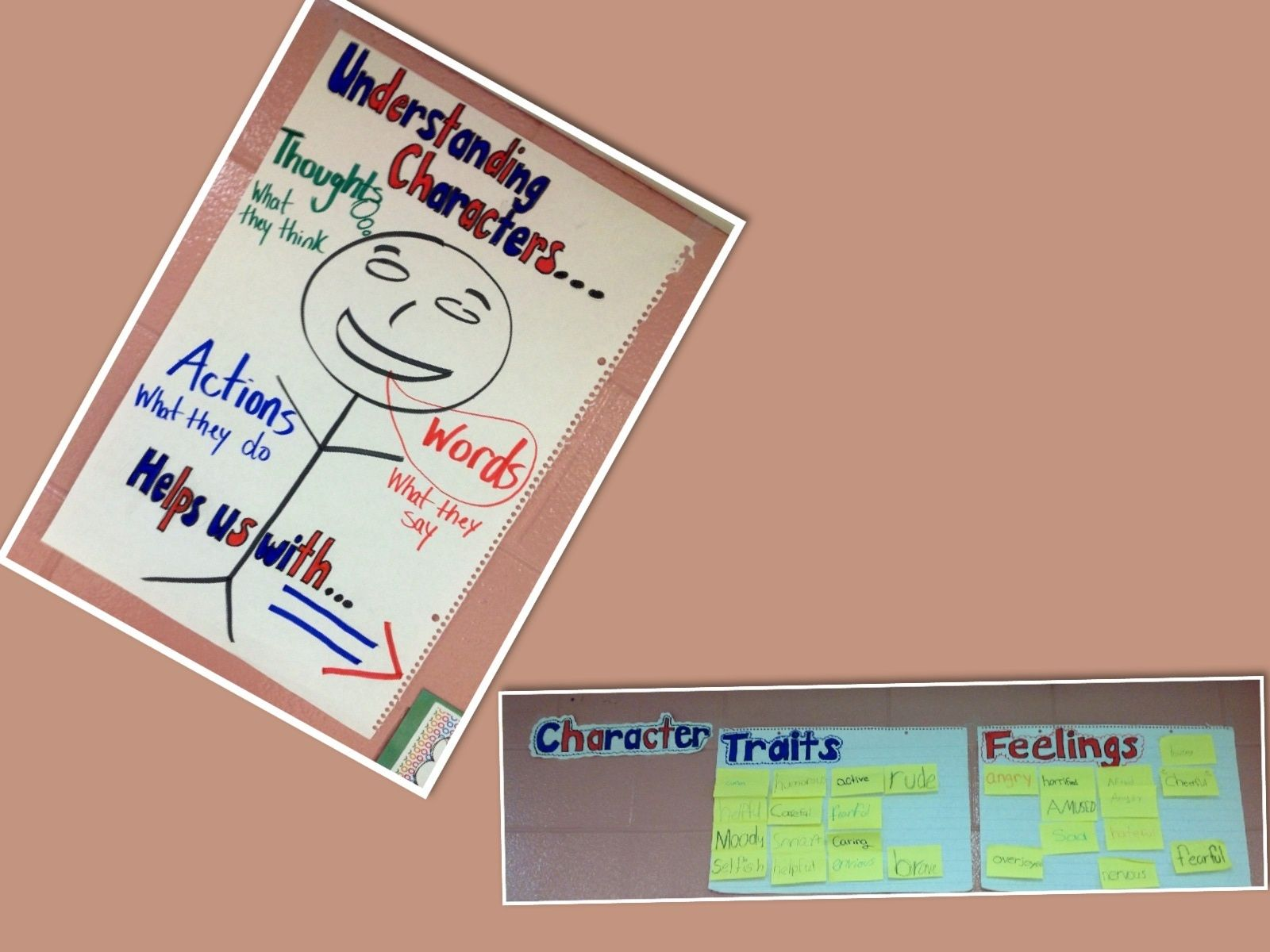 Inferring Character Traits And Feelings By Understanding