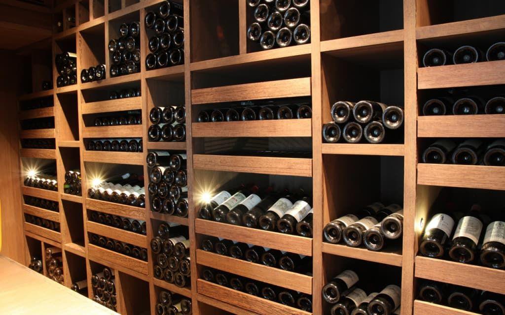 Cave à vin sur mesure en wengé - luxembourg cave à vin moderne par degré 12 moderne en 2020 ...