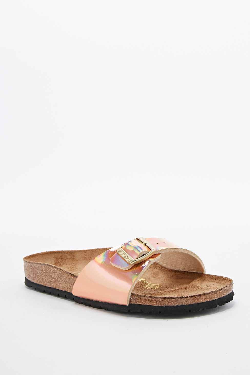 719048ce2fb Birkenstock Madrid Sandals in Rose Gold urbanoutfigt 50 E