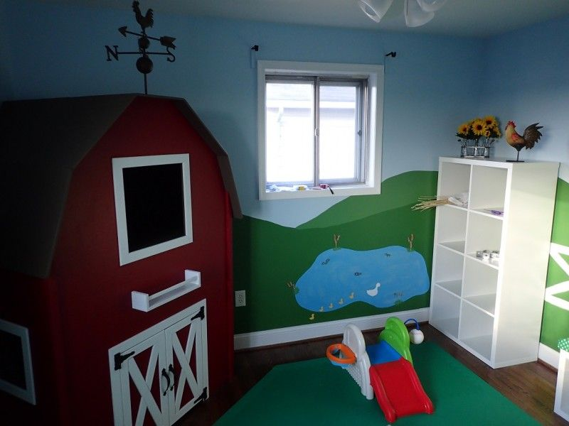 Dieses Baby brauchte ein neues Kinderzimmer, also haben ihre Eltern alles gegeben.
