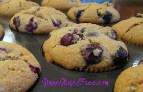 Gimme Gluten Free: Gluten Free ~ Blissful Blueberry Muffins
