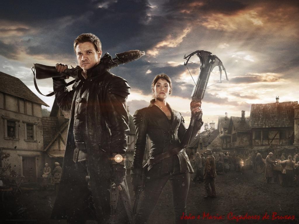João e Maria caçadores de bruxas wallpaper