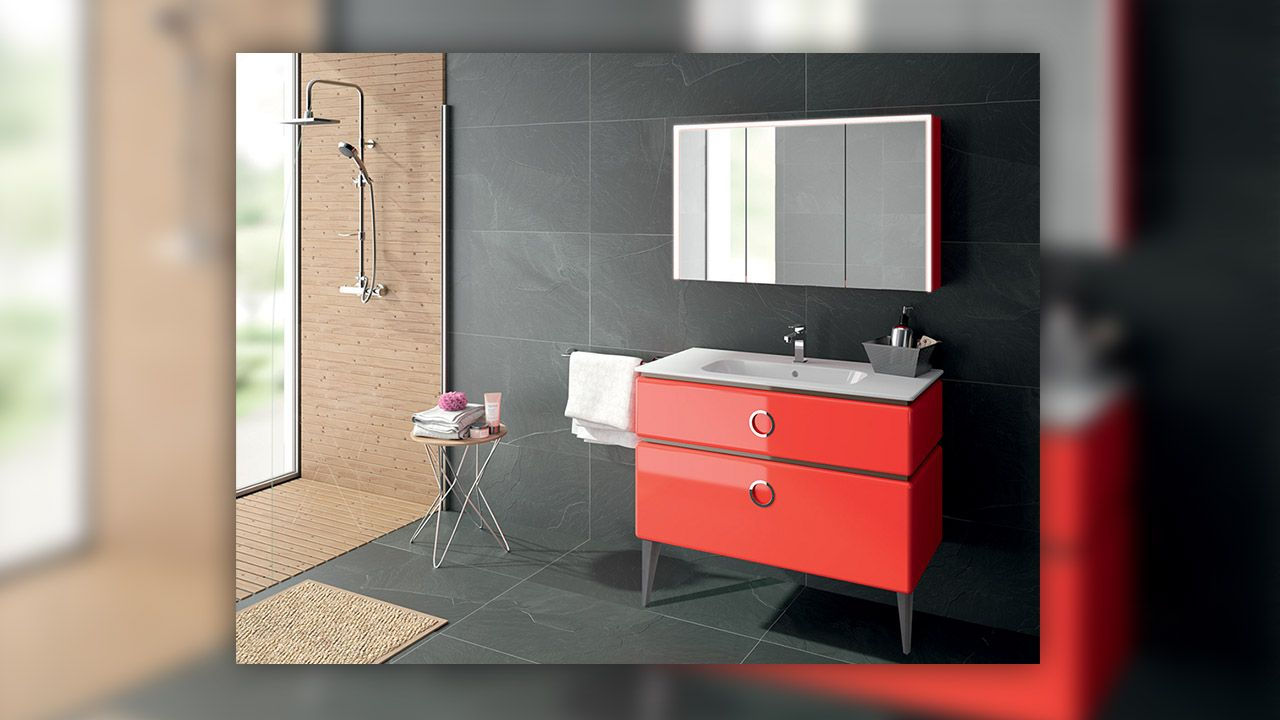 pingl par dimension carrelage sur meubles de salle de bains pinterest meuble salle de bain. Black Bedroom Furniture Sets. Home Design Ideas