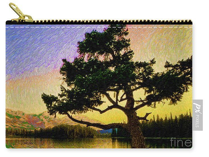 Carry-All Pouch - Abstract Landscape 0750