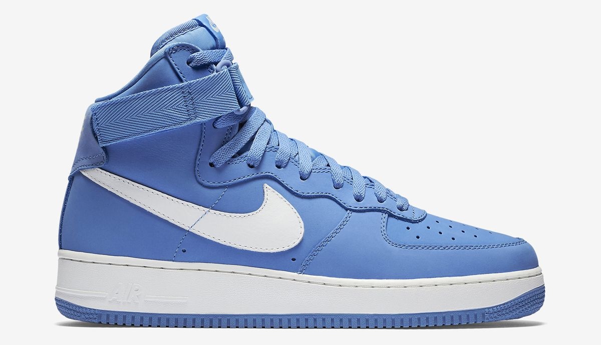 Nike Herren Air Force 1 HI Retro QS Handballschuhe, Blau / Weiß (University  Blue/Summit White), 44 EU - Nike schuhe (*Partner-Link)