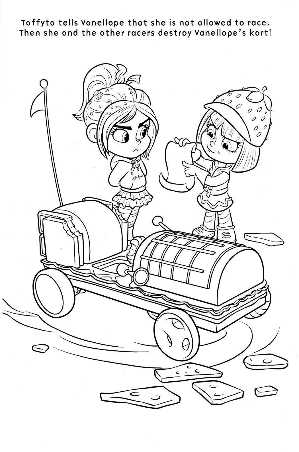 coloriage le monde de ralph  Disney coloring pages, Coloring