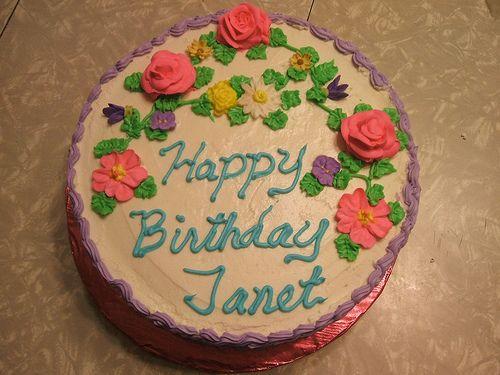 Janet S Birthday Cake Cake Birthday Birthday Cake